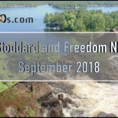 Stoddard and Freedom NH - Sept 2018